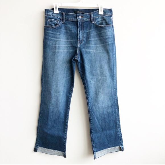 J Brand Denim - J Brand | Selena Mid Rise Crop Raw Step Hem Jeans